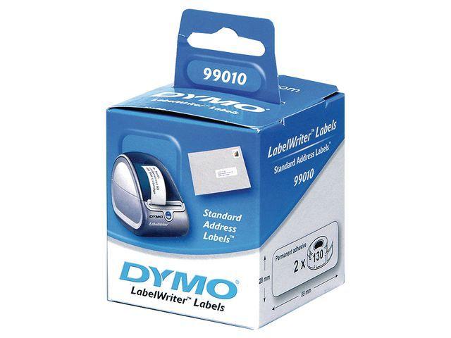 Dymo Etiket Dymo LW 89x28 adres wit/ds 24x130