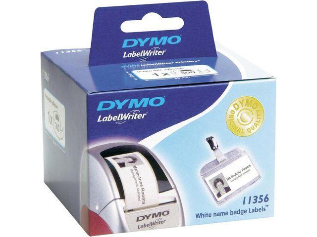 Dymo Etiket Dymo LW 89x36 euro trans/rol 260
