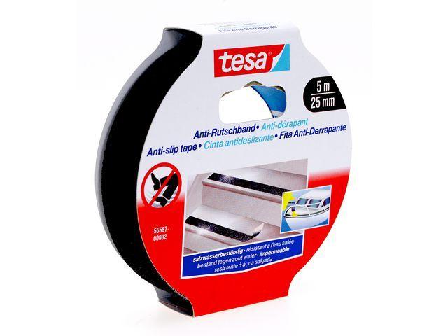 tesa® tesa® Anti-slip tape 25 mm x 5 m. zwart (rol 5 meter)