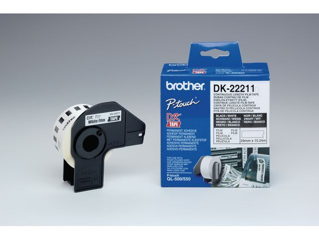 P-Touch Tape Brother QL500 continue 29mm