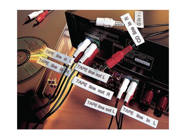 P-Touch Tape P-Touch TZ-461 36mm zwart op rood