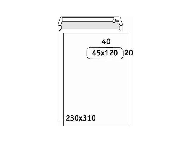 Burosprinter Envelop 230x310 P&S akte vr45/d250