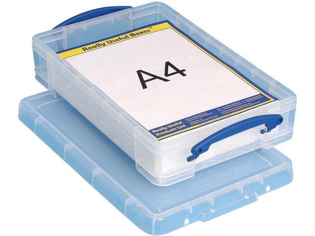 Really Useful Box Opbergbox RUP Officetray 4L met verdeler