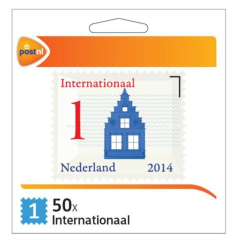 PostNL Postzegel internationaal waarde 1/set 50