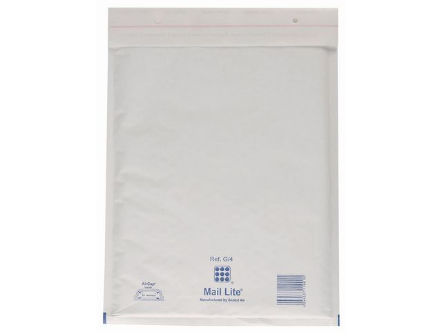 Mail Lite® Luchtkussenenvelop MailLite J/6 wit/50
