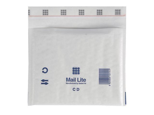 Mail Lite® Luchtkussenenvelop MailLite C/DVD wt/100