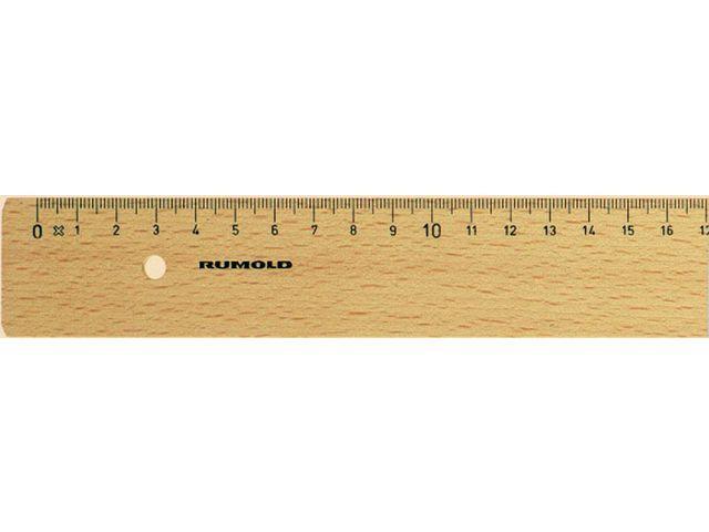 RUMOLD Liniaal Rumold 300 mm hout