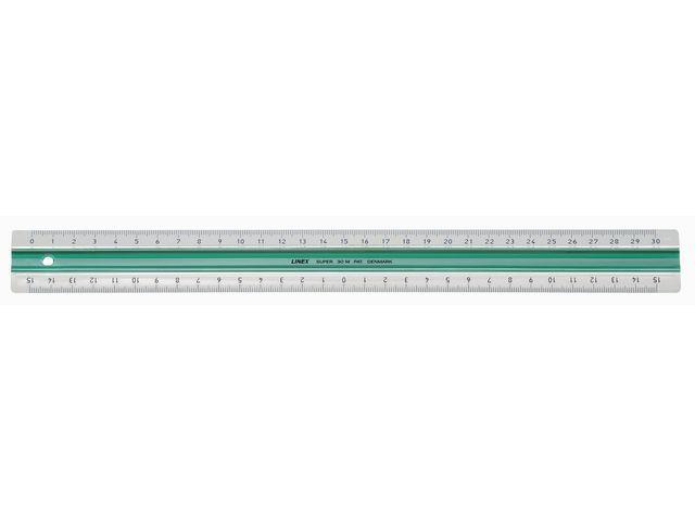 Linex Liniaal Linex 300mm rubberstrip