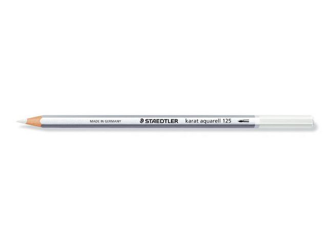 Staedtler Kleurpotlood Karat Aquarel 2mm wit/ds 6