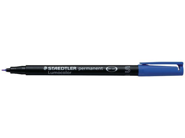 Lumocolor OHP/CD/DVDmarker Lc313 SF blauw/doos 10