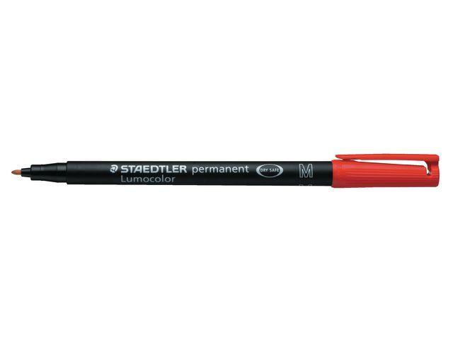 Lumocolor OHP/CD/DVDmarker Lc317 M rood/doos 10
