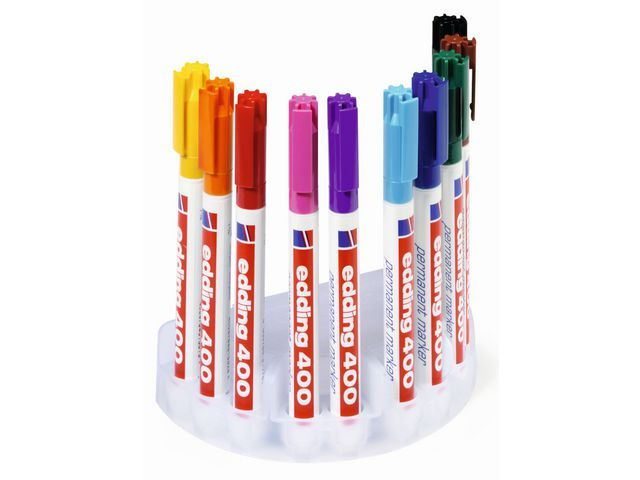 Edding Permanent marker edding 400 1mm ass/ds10