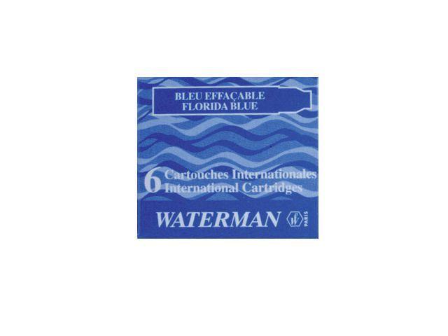Waterman Vulling vulpen Waterman kort blauw/ds 6