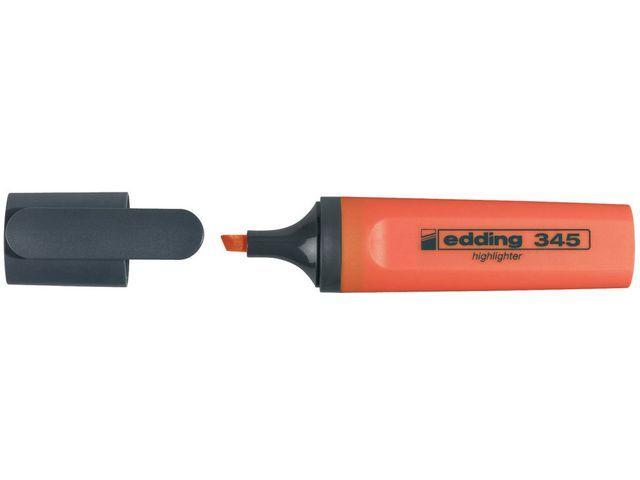 Edding Tekstmarker edding 345 oranje ds/10