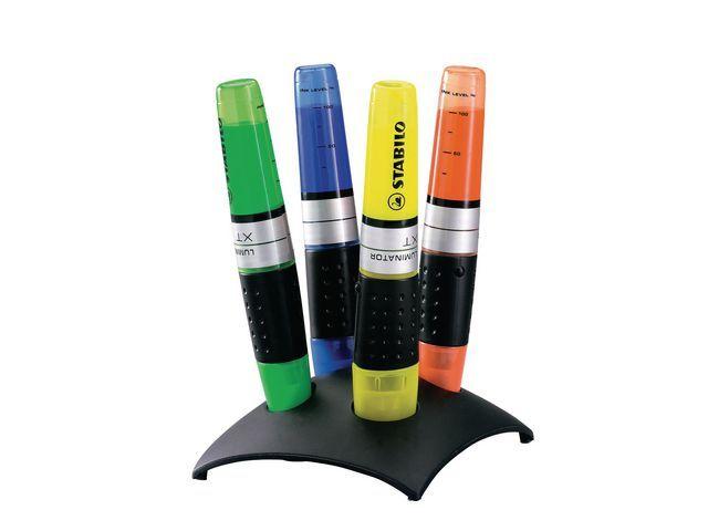 STABILO Tekstmarker Luminator XT deskset/etui 4