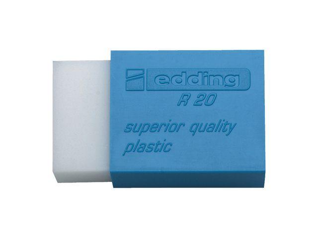 Edding Gum edding R20 plastic 45 x24 x10 wit