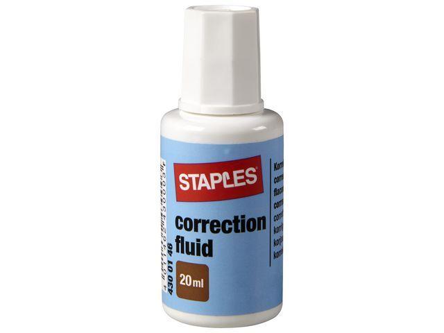 Staples Correctievloeistof SPLS 20 ml