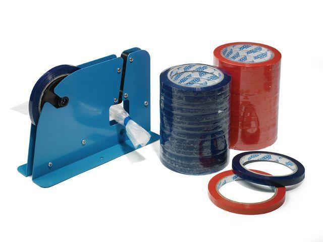 Zakkensluitdispenser voor tape 9-12mm