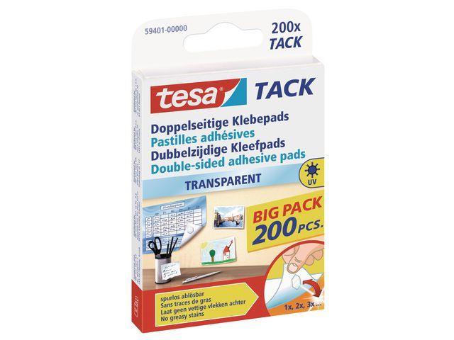 tesa® Kleefpad tesa TACK dubbelzijdig/pak 200