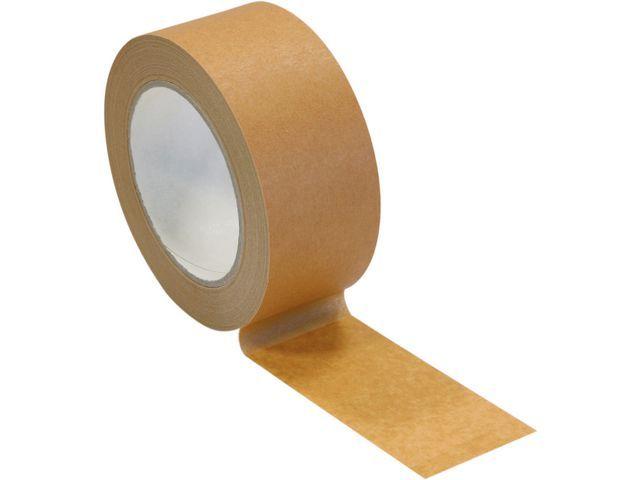 Pressel Papierkleefband 50mmx50m bruin/pk6