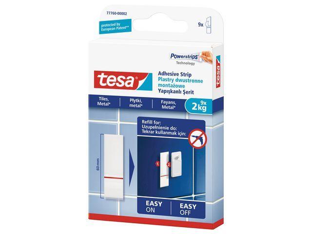 tesa® Kleefstrips 2kg navulling /pk9