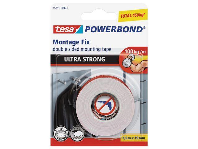 tesa® Klussentape Powerbond UltraStrong 1.5x19