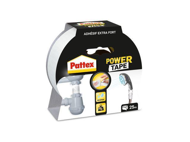 Pattex Power tape Pattex 50mmx25m wit/rl 25m