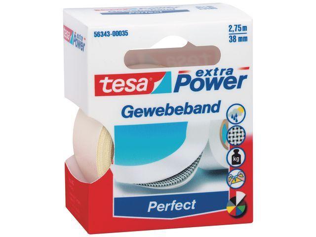 tesa® Klussentape Extra Power 38mmx2.75m wit