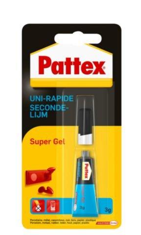 Pattex Secondelijm Pattex Super Gel/tube 3gram