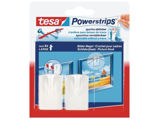 tesa® Powerstrip haken tesa Large rechth.wt/b2