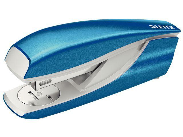 Leitz Nietmachine Leitz WOW 5502 blauw metall.