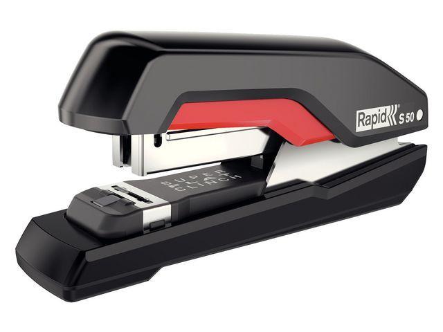 Rapid Nietmachine Supreme HS S50 50vel zw/rood