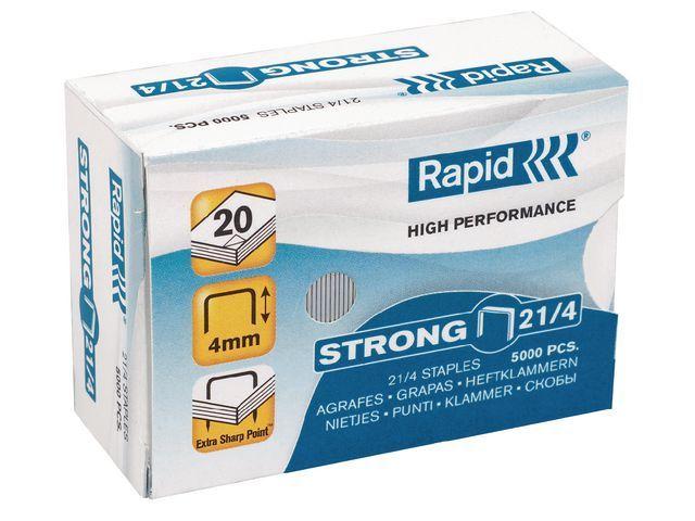 Rapid Nieten Rapid 21/4 verzinkt/doos 5000