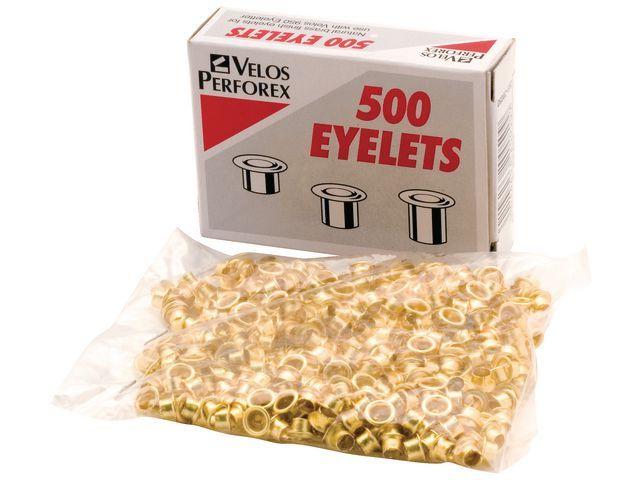 Rexel Ring Velos Nr.3 hoog 5.5mm koper/ds 500