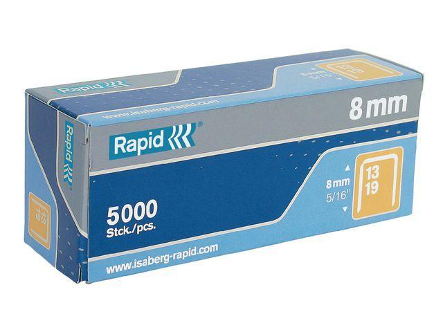 Rapid Nieten Rapid 13/8 verzinkt/doos 5000