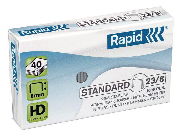 Rapid Nieten Rapid 23/8 verzinkt/doos 1000
