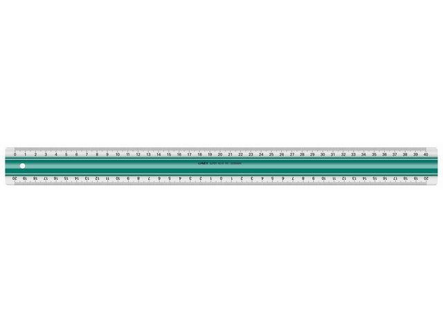 Linex Liniaal Linex 400mm rubberstrip