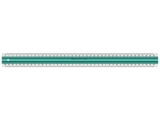 Linex Liniaal Linex 500mm rubberstrip
