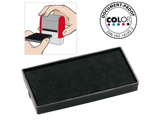 Colop Inktkussen Colop E/40 zwart/pak 2