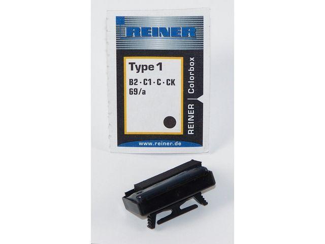 REINER Inktkussen Colorbox 1 Reiner B2 zwart