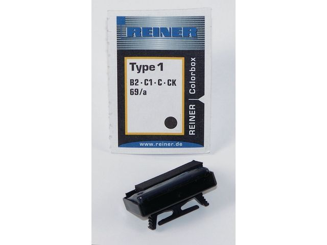 REINER Inktkussen Colorbox 1 Reiner B2 rood