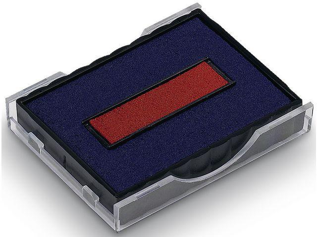 Colop Inktkussen Colop E/4750/2 rood/blauw/p2