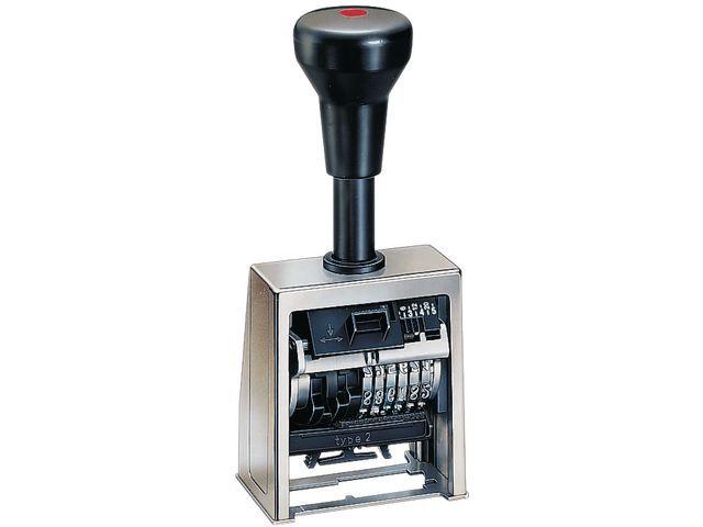 REINER Numeroteur Reiner B6 4.5mm 6 cijfers