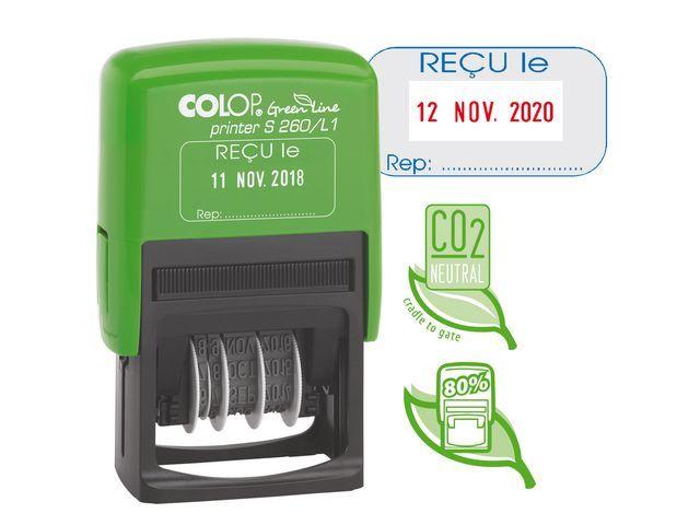 Colop Stempel Colop Printer S260/L1 GL RECU LE