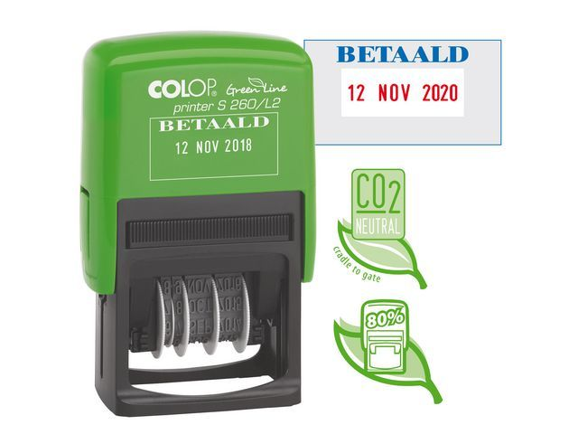 Colop Stempel Colop Printer S260/L2 GL BETAALD
