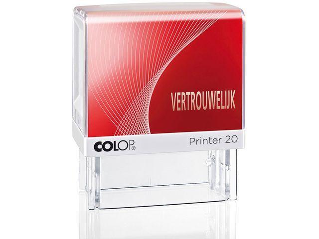 Colop Stempel Colop Printer 20/L VERTROUWELIJK