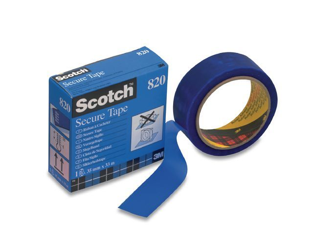 Scotch® Verzegeltape Scotch 820 35mm x 33m blauw