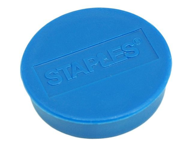 Staples Magneet SPLS 35 mm blauw/pak 10