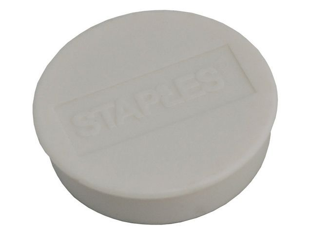 Staples Magneet SPLS 35 mm wit/pak 10