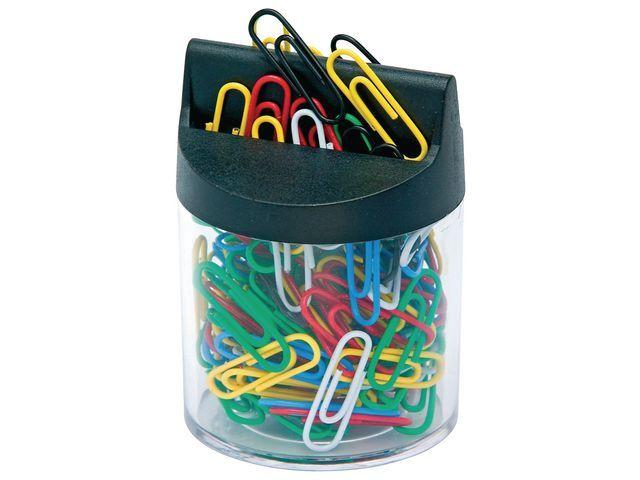 Staples Papercliphouder SPLS(+ gekl.clips)tr/zw